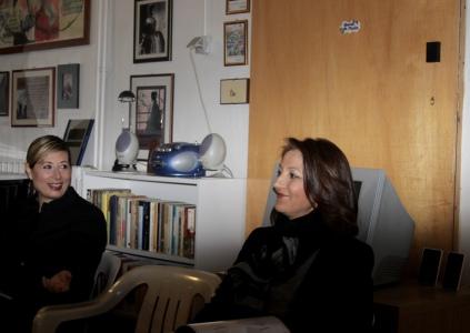 Giuditta Puccinelli e Patrizia Pavoncello