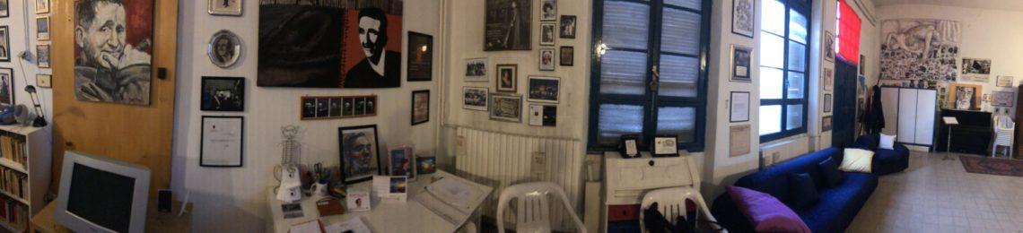 stanza dove si fanno le prove